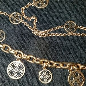Michael Kors 3-piece jewelry set rose gold tone